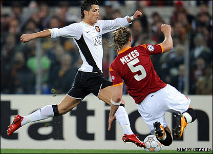 Roma's French defender Philippe Mexes