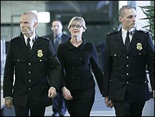 Sarah Lancashire and friends in Doctor Who: Partners in Crime