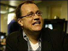 Doctor Who's Russell T Davies