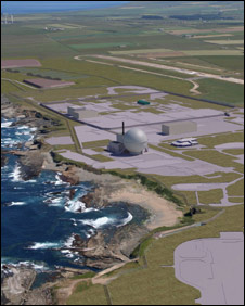 Artist's impression of Dounreay in 2032 (Pic: NDA/UKAEA)