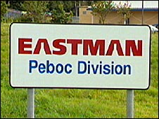 Eastman Peboc sign