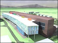 Roslin Institute and Edinburgh University building