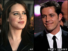 Michelle Ryan and Sean Maguire