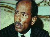 الرئيس أنور السادات