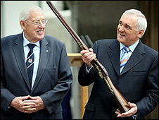 Ian Paisley and Bertie Ahern