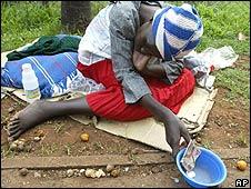 Beggar in Harare