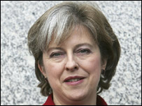 Conservative shadow leader of the House of Commons, Theresa May