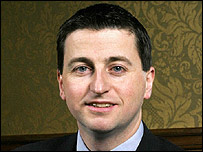 Secretary of state for international development, Douglas Alexander