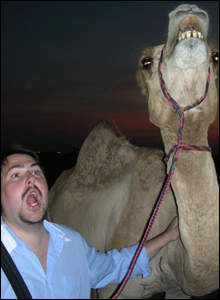 Gregg Deehan and camel