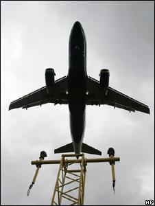 Aircraft landing (Image: AP)