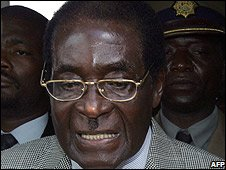 President Mugabe, 29 March 2008