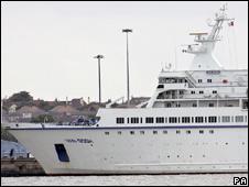 Van Gogh cruise liner