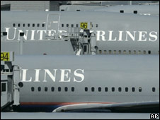 United Airlines aircraft