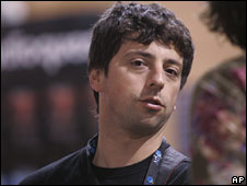 Sergey Brin, co-founder of Google (file picture)