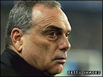 Chelsea boss Avram Grant