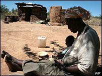 Indigentes en Zimbabue