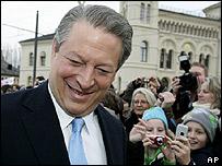 Al Gore, premio Nobel de la Paz
