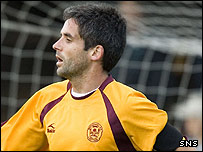 Motherwell midfielder Keith Lasley