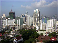 Skyscrapers in Bangkok