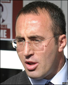 Ramush Haradinaj (File photo 9/6/05)