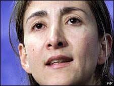 Ingrid Betancourt in 2001