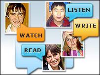 Читатели раздела Learn English (коллаж)