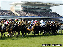 The start of the Grand National