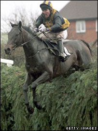 Tony McCoy riding Blowing Wind in 2001