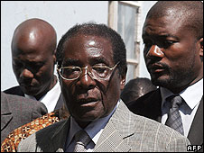 President Mugabe, March 29 2008