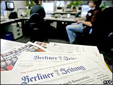 Berliner Zeitung office (file photo 25/10/05)