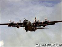 Hercules aircraft