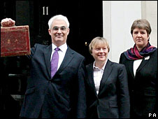 Alistair Darling, Angela Eagle and Jane Kennedy