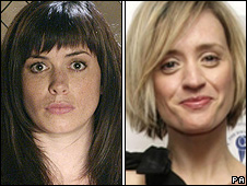 Eve Myles and Anne-Marie Duff