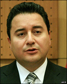 Turkish FM Ali Babacan  (23/2/08)