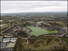 Aerial image of Baal Pit