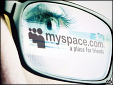 MySpace advert
