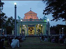 The shrine at Madhu