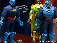 Batman toys recalled by US consumer authorities in 2007