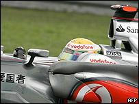 Lewis Hamilton, piloto McLaren