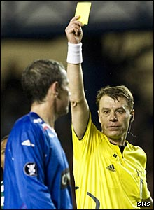 David Weir and referee Iouri Baskakov