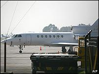 Jet francés.