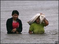 Inundaciones en Trinidad, Bolivia.