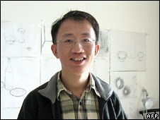 Jailed activist Hu Jia, pictured in January 2007