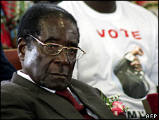 Robert Mugabe (23 March 2008)