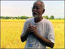 Jaime Tadeo, Philippine rice council