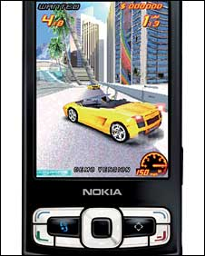 Screenshot from Nokia N95, Nokia