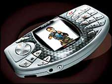 Original NGage handset, Nokia