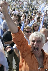 Argentina's farmers are demonstrating