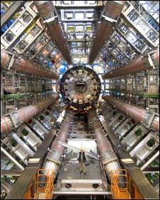 Inside the Large Hadron Collider (Pic: Cern)