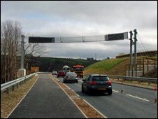Bat bridge on Dobwalls bypass. Picture: Michael Taylor.